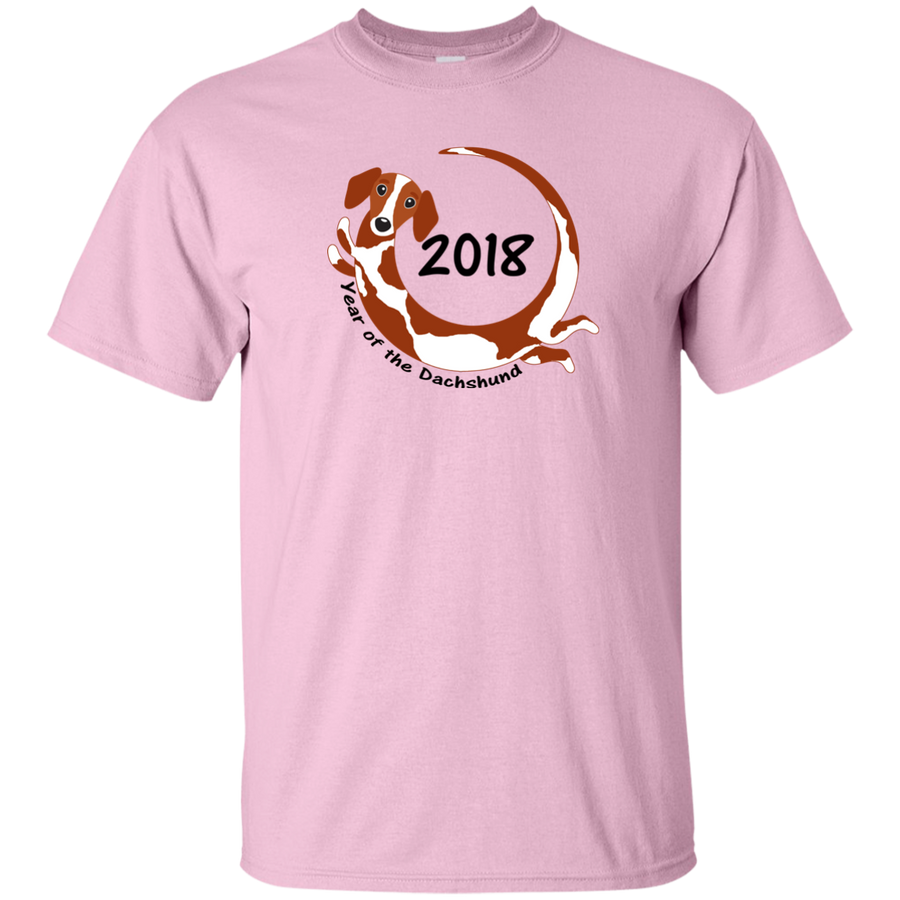 2018 Year of the Dachshund piebald short hair Shirts