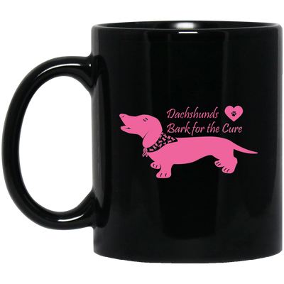 Dachshunds Bark For The Cure Mugs Fundraiser