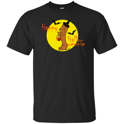 Dachshund Happy Halloweenie Red Short Hair Shirts