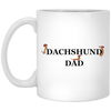 Dachshund Dad Fun Mugs