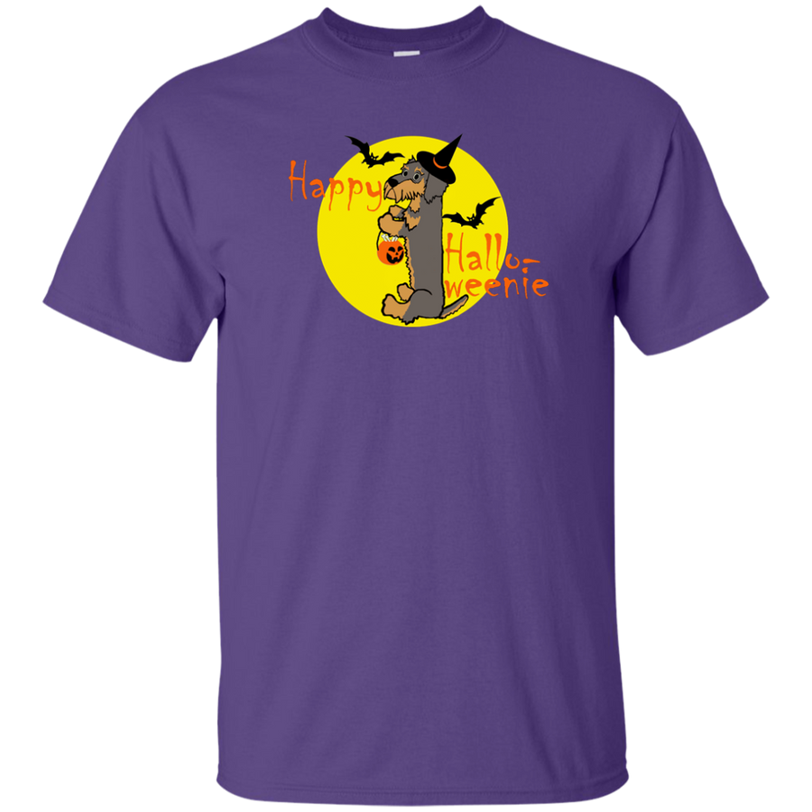 Dachshund Happy Halloweenie Wire Hair Shirts