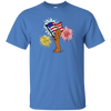Dachshund Tan Patriotic Celebration Shirts