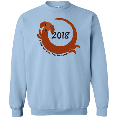 2018 Year of the Dachshund red long hair Shirts