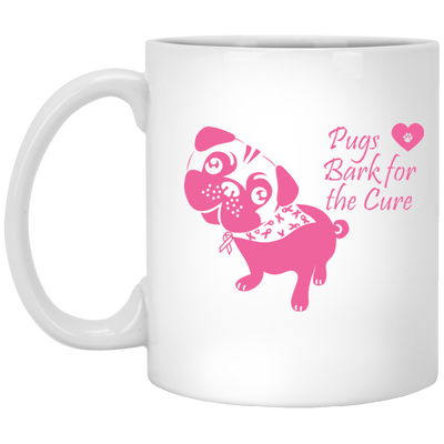 Pugs Bark For The Cure Mugs Fundraiser