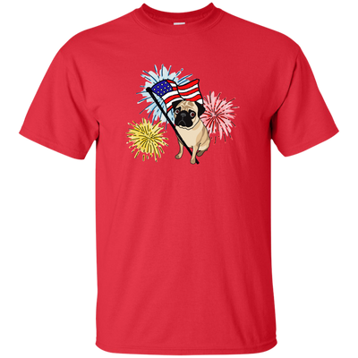 Pug Patriotic Celebration Shirts