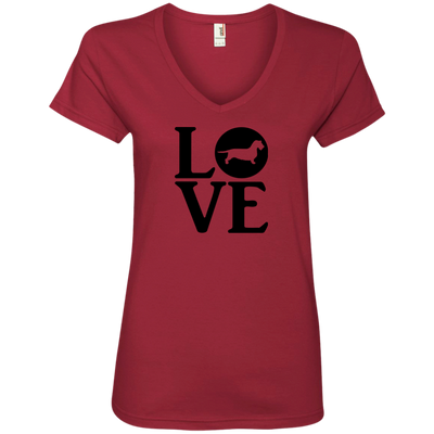 LOVE Wire Hair Dachshund Shirts