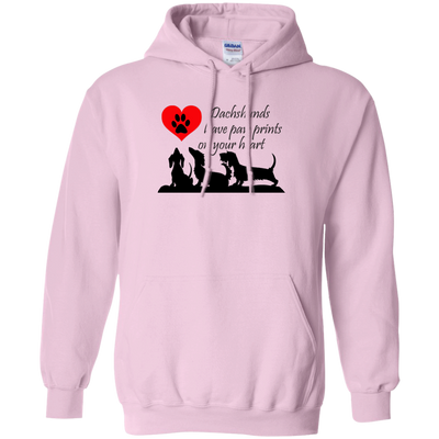 Dachshunds Leave Paw Prints on Your Heart Shirts