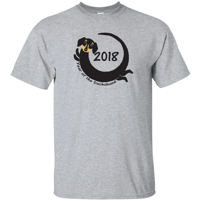 2018 Year of the Dachshund black and tan wirehair Shirts