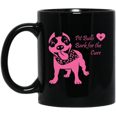 Pit Bulls Bark For The Cure Mugs Fundraiser