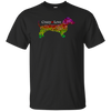 Dachshund Crazy Love MultiColored Heart Shirts