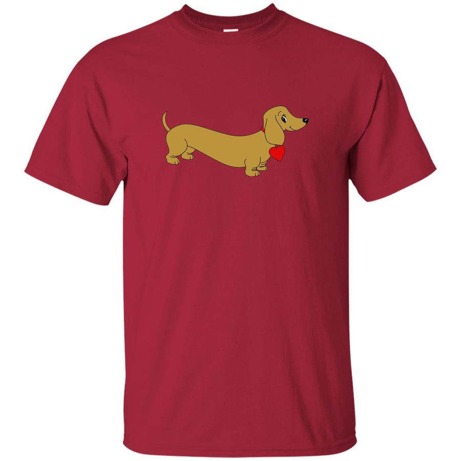 Dachshund Love Tan Shirts