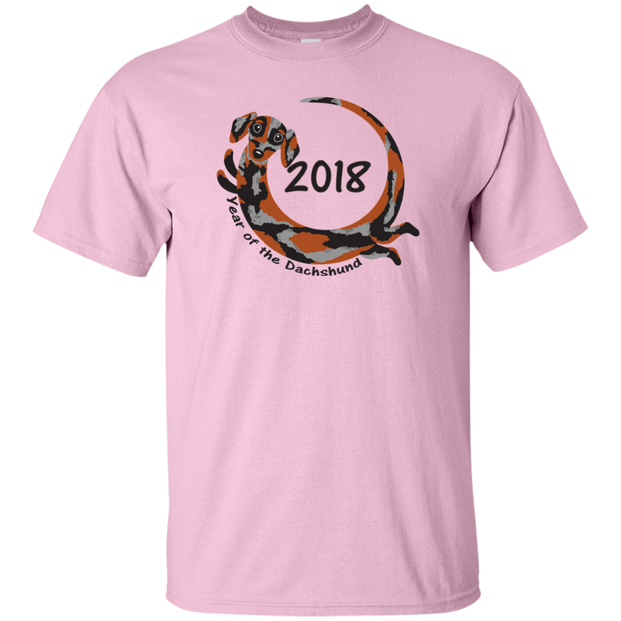 2018 Year of the Dachshund dapple short hair Shirts