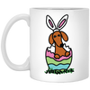 Dachshund Easter Egg Mugs