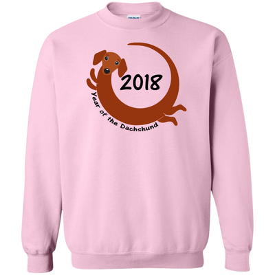 2018 Year Of The Dachshund red short hair Shirts