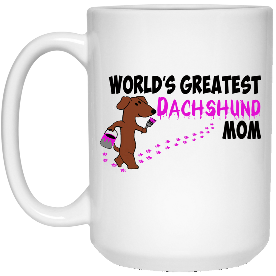 World's Greatest Dachshund Mom Mug