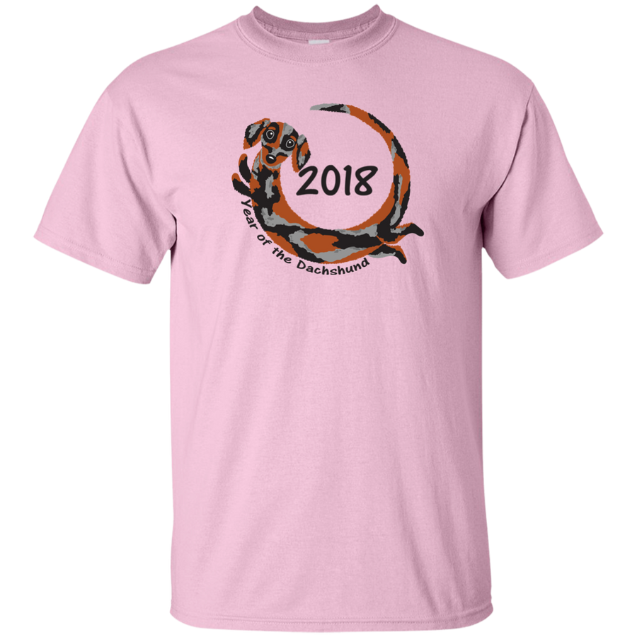 2018 Year of the Dachshund dapple long hair Shirts