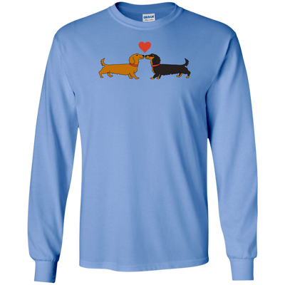 Dachshund Long on Love Shirts Long Hair