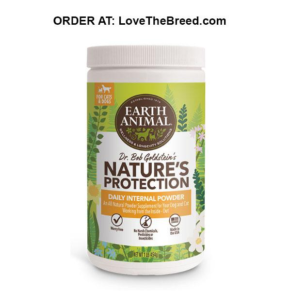 Natures Protection Daily Internal Powder by Earth Animal
