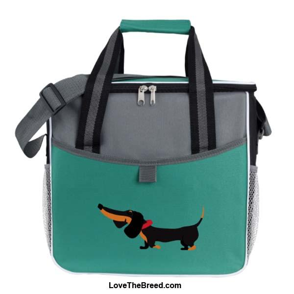 Dachshund Black and Tan Large Cooler Bag