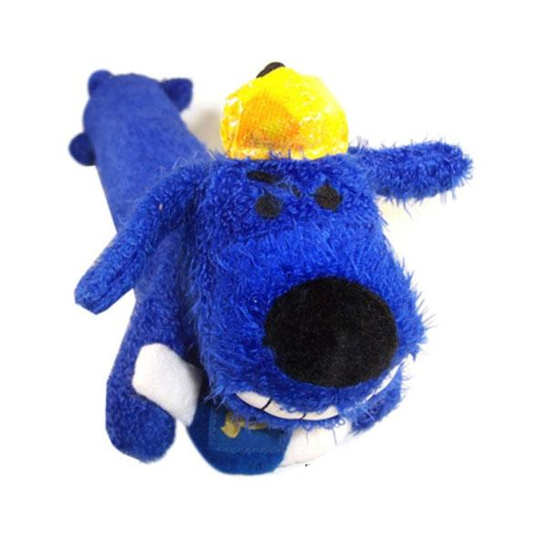 Hanukkah Loofa Dog Toy - 12""