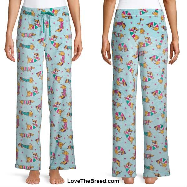 Dachshund Happiness Ultra Plush Pajama Pants