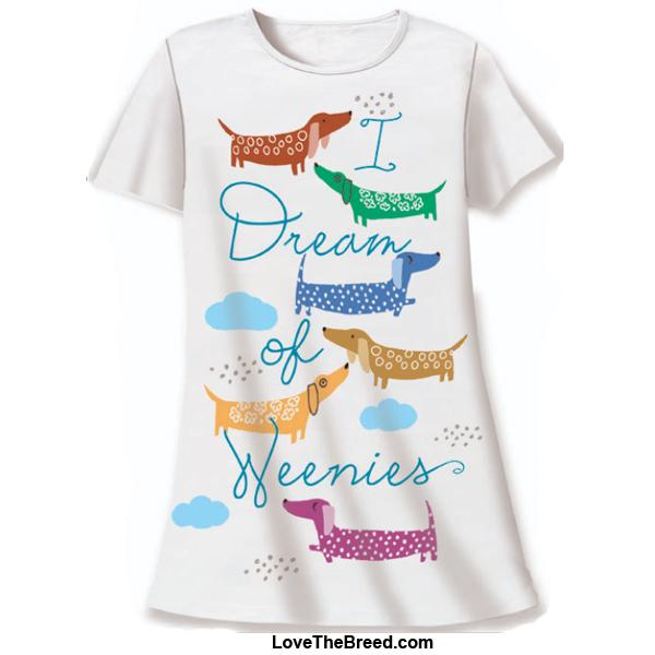Night Shirt - I Dream of Weenies