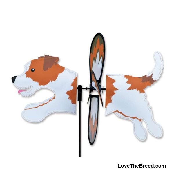 Jack Russell Dog Petite Wind Spinner
