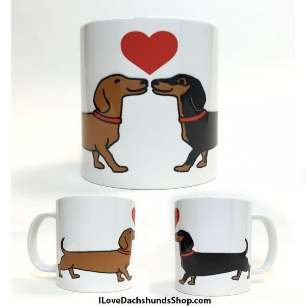 Dachshund Long on Love Mug