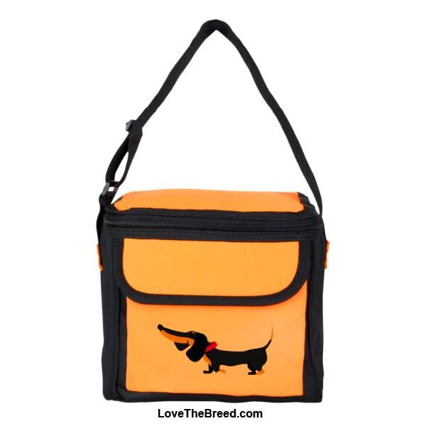 Dachshund Black and Tan Small Cooler Bag