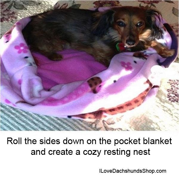 Pocket Blankets for Dogs