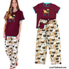 Pug Pajama Set Snug as a Pug