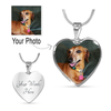 Your Personalized Photo Necklace / Bangle Heart Shaped