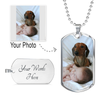 Your Personalized Photo Necklace Dog Tag