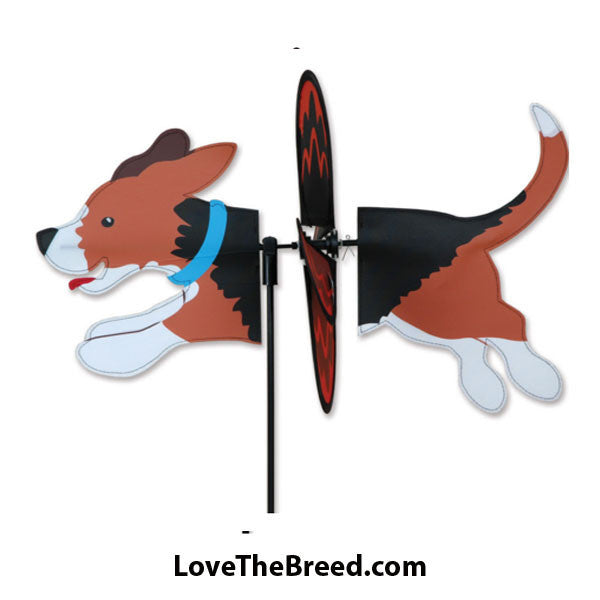Beagle Dog Petite Wind Spinner