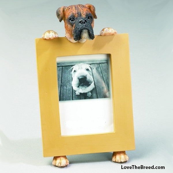 Boxer Photo Frame