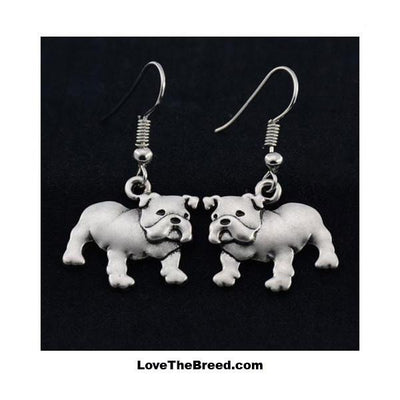 Bulldog Charm Earrings ZA