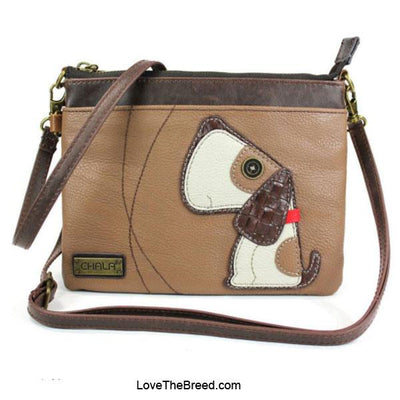 Beagle Dog Mini Crossbody or Clutch Purse Chala