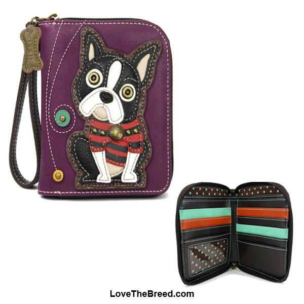 Boston Terrier Chala Wallet