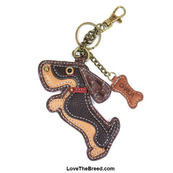 Dachshund Key Chain Purse Charm Chala