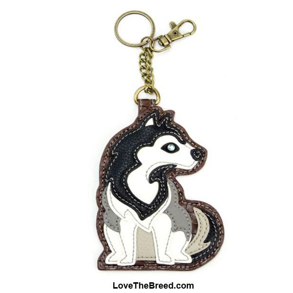Husky Key Chain Purse Charm Chala