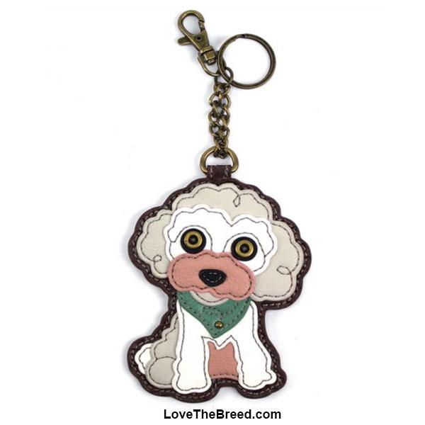 Poodle Key Chain Purse Charm Chala