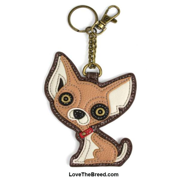 Chihuahua Key Chain Purse Charm Chala