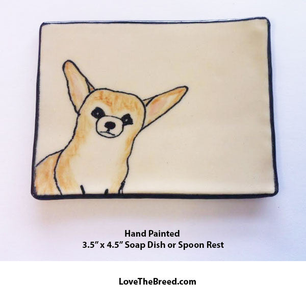 Chihuahua Dish for Soap, Spoon Rest, Jewelry