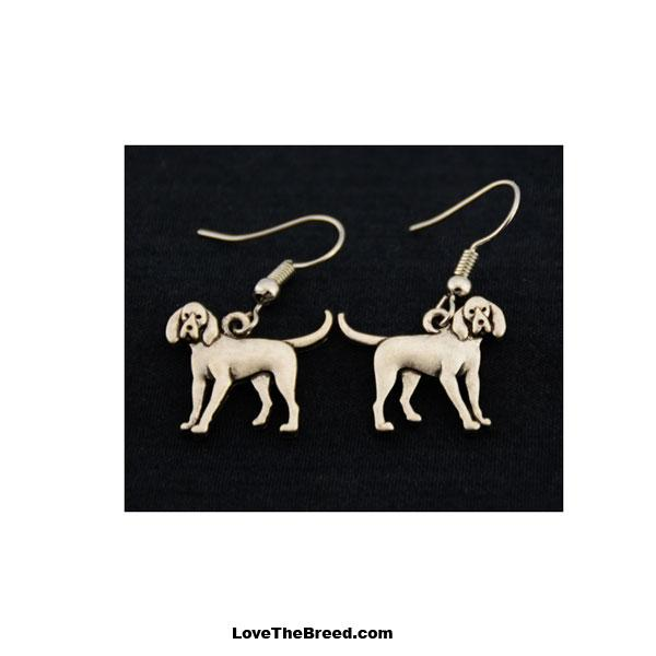 Coonhound Charm Earrings
