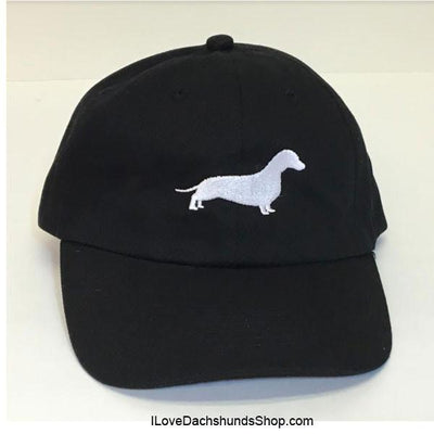 Dachshund embroidered cap hats