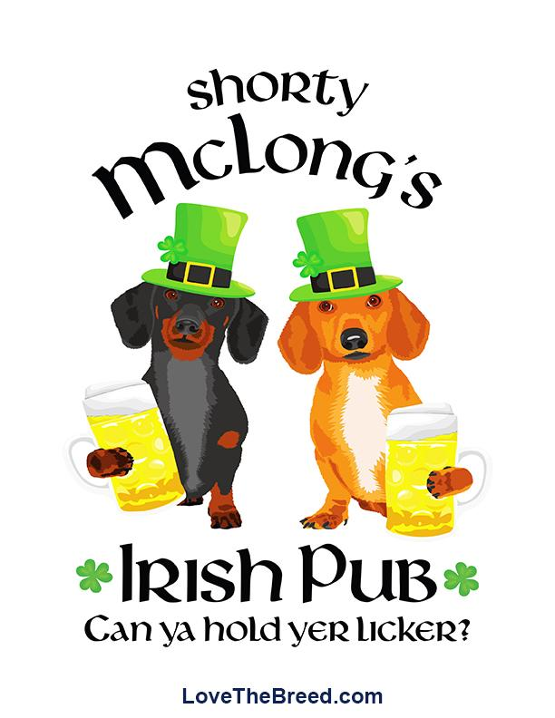 Shorty McLong's Irish Pub Print