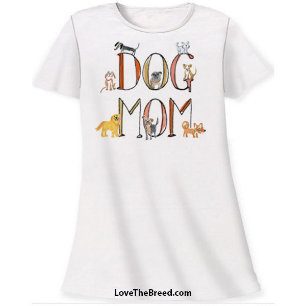 Night Shirt - Dog Mom
