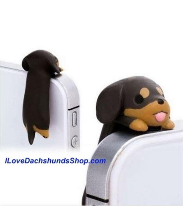 Dachshund 3mm Anti-Dust Earphone Jack Plug