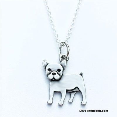 French Bulldog Charm Necklace