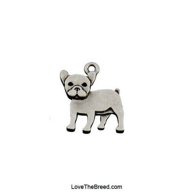 French Bulldog Charm Earrings